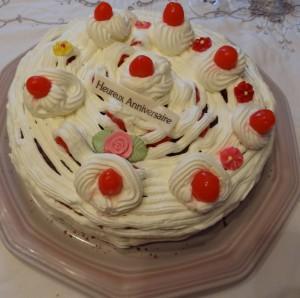 gâteau refait